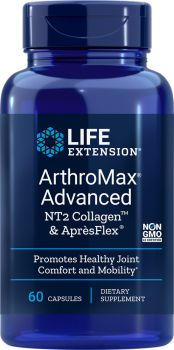 Life Extension Arthromax Advanced With UC-II & ApresFlex 60caps