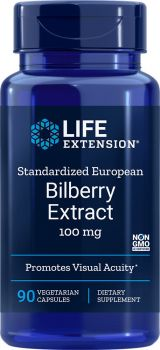 Life Extension Billberry Extract 100mg 90veg.caps