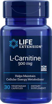 Life Extension L-Carnitine 500mg 30vegcaps