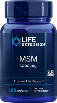 Life Extension Msm 1000mg 100 caps