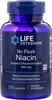 Life Extension No Flush Niacin 100caps
