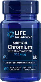 Life Extension Optimized Chromium With Crominex 500mcg 60vegcaps