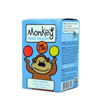 Monkey-Πολυβιταμίνη-Για-Παιδιά-Monkey-Multivitamins-30caps