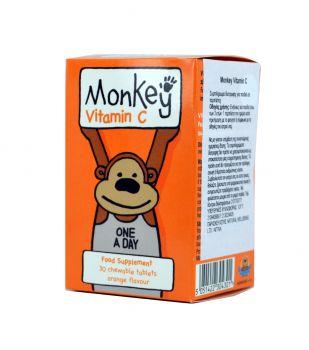 Monkey-Βιταμίνη-C-Για-Παιδιά-Monkey-Vitamin-C-30caps
