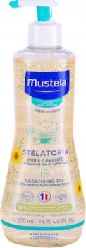 Mustela Bébé Stelatopia Λάδι Ντους 500ml