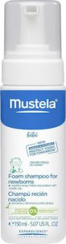 Mustela Foam Shampoo for Newborns-Normal Skin 150ml
