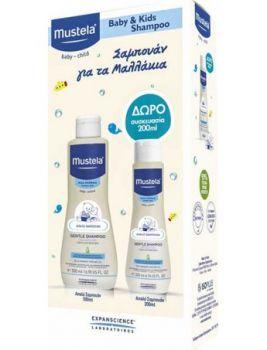 Mustela Promo Pack Stelatopia Cleansing Gel 200ml & Δώρο Stelatopia Emollient Face Cream 40ml