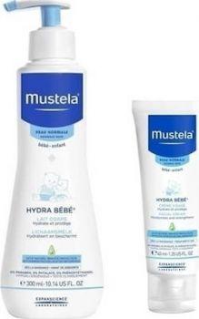 Mustela Promo Pack Hydra Bebe Body Lotion 300ml & Facial Cream 40ml