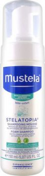 Mustela Stelatopia Foam Shampoo-Atopic Prone Skin 150ml