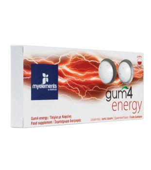 My Elements Gum 4 Energy 10 τμχ