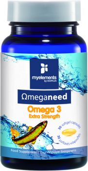My Elements Ωmeganeed Omega 3 Extra Strength 30caps