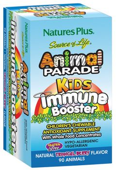 Nature's Plus Animal Parade Kids Immune Booster 90 chewable