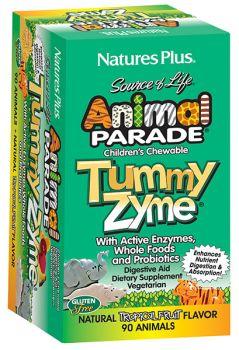 Nature's Plus Animal Parade Tummy Zyme 90tabs