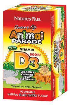 Nature's Plus Animal Parade Vit D3 90tabs