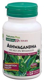 Nature's Plus Ashwagandha 450 mg 60v.caps