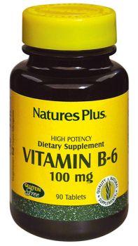 Nature's Plus B-6 100 mg 90 tabs