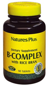 Nature's Plus B-Complex With Rice Bran 90 tabs