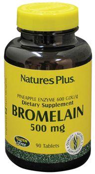 Nature's Plus Bromelain 500 mg 60 tabs