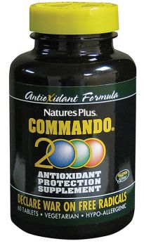 Nature's Plus Commando 2000 60 tabs