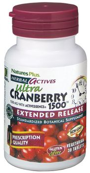 Nature's Plus Cranberry 1500mg Extended Release 30tabs