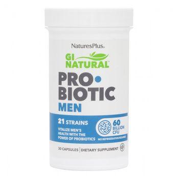 Nature's Plus Gi Natural Probiotic Men 30caps