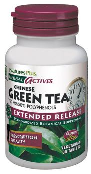 Nature's Plus Green Tea 750mg Extended Release 30tabs