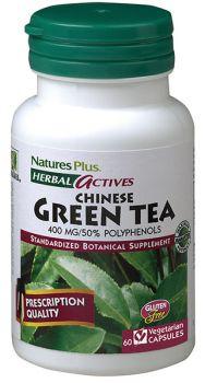 Nature's Plus Green Tea Chinese 400mg 60v.caps