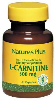Nature's Plus L - Carnitine 300mg 30 v.caps