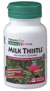 Nature's Plus Milk Thistle 250mg 60v.caps