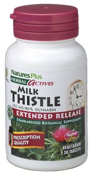 Nature's Plus Milk Thistle 500mg Extended Release 30tabs
