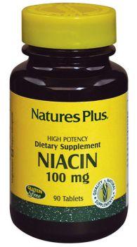 Nature's Plus Niacin 100 mg 90 tabs
