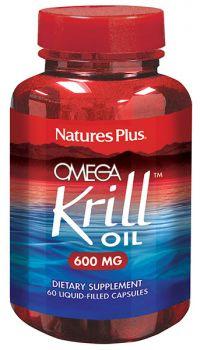 Nature's Plus Omega Krill Oil 600 mg 60vcaps