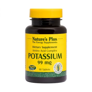 Nature's Plus Potassium 99mg 90tbs