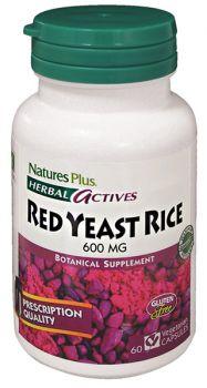 Nature's Plus Red Yeast Rice 600mg 60v.caps