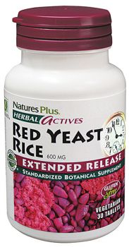 Nature's Plus Red Yeast Rice Extended Release 600mg 30tabs