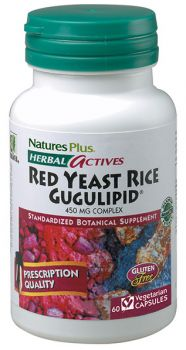 Nature's Plus Red Yeast Rice / Gugulipid 60v.caps