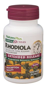 Nature's Plus Rhodiola 1000 mg 30tabs extended release
