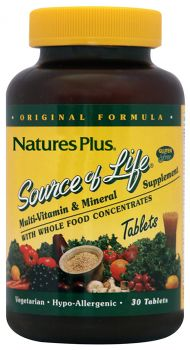 Nature's Plus Source Of Life 30 tabs