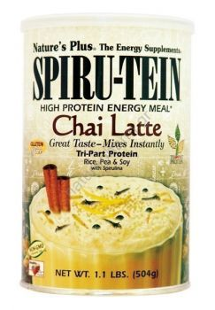 Nature's Plus Spiru-tein Chai Latte Shake 504gr
