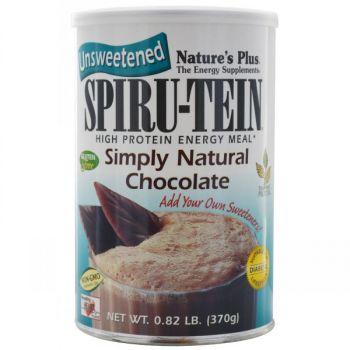 Nature's Plus Spiru-tein Simply Natural Chocolate Shake 370gr