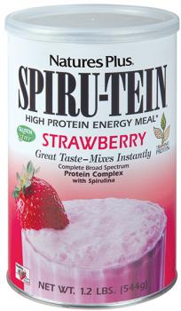 Nature's Plus Spirutein Strawberry Shake 1.2 lb