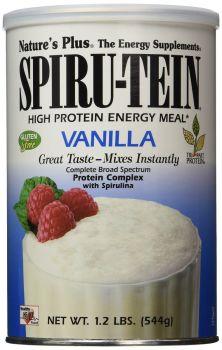 Nature's Plus Spirutein Vanilla Shake 1.2 lb