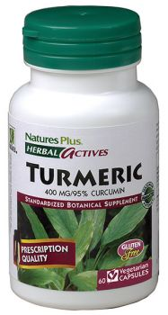 Nature's Plus Turmeric 400mg 60v.caps