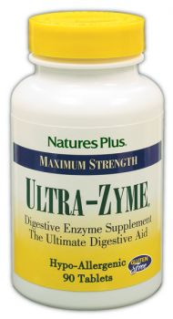 Nature's Plus Ultra-Zyme 90 tabs