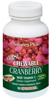 Nature's Plus Ultra Cranberry 90 chewable