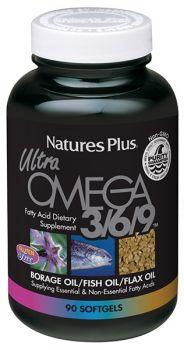 Nature's Plus Ultra Omega 3/6/9 1200 mg 90 softgels