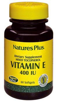 Nature's Plus Vitamin E 400IU 60 softgels