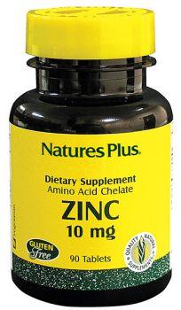 Nature's Plus Zinc 10 mg 90 tabs