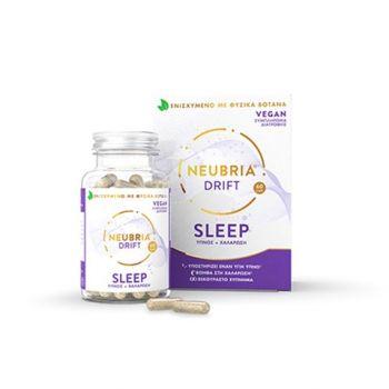 Neubria Drift Sleep Συμπλήρωμα Διατροφής Για Τον Ύπνο Και Την Χαλάρωση 60 Κάψουλες