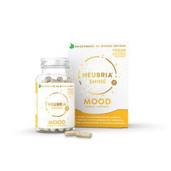 Neubria Shine Mood Supplement Συμπλήρωμα Διατροφής Για Τη Φυσιολογική Ψυχολογική Ισορροπία 60 Κάψουλες